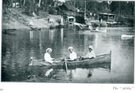 German Internees boating on the river at Berrima NSW