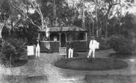 Sorgenfrei.  German Internees swimming groups clubhouse Berrima NSW
