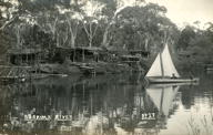 German Internees Huts on the Wingecarribee River, Berrima NSW