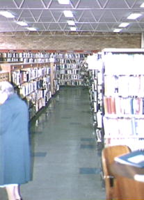 Campsie Library, [interior], adult section, ca 1986